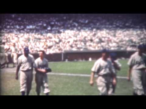 Jackie Robinson at Wrigley Field 1947