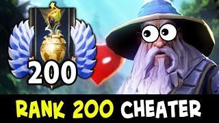 TOP-200 Rank using Script Bot — beware of cheats/hacks in Dota