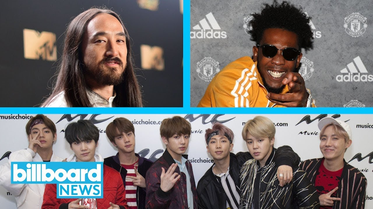 BTS Collaborate with Steve Aoki & Desiigner For 'Mic Drop' Remix |  Billboard News