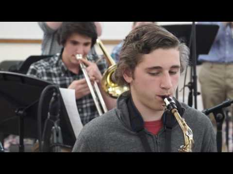 The Rivers School Big Band - Goodbye Pork Pie Hat (Take 2)
