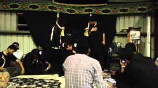Wajid Hussain Noha khuwan live at Brisbane 01-01-2014