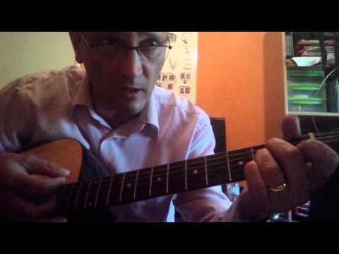 REGARDE UN PEU LA FRANCE MIOSSEC à la guitare Tuto