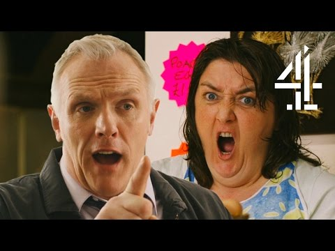 Greg Davies Is Having A Party! | Man Down | Series 3 Episode 6 (Outtakes)