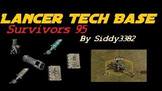 War Commander - Survivors (95) Lancer Tech Base.
