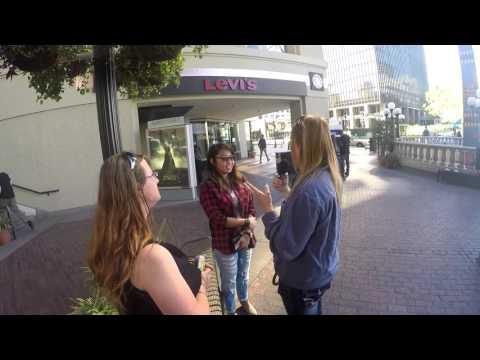 Outreach in San Diego Mall 2 20 16
