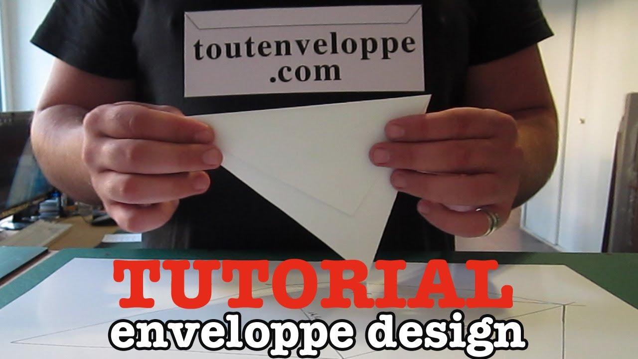 comment faire une enveloppe en papier design youtube. Black Bedroom Furniture Sets. Home Design Ideas