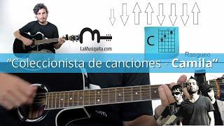 Coleccionista de canciones  guitarra acordes - Como tocar Coleccionistas de canciones - Camila