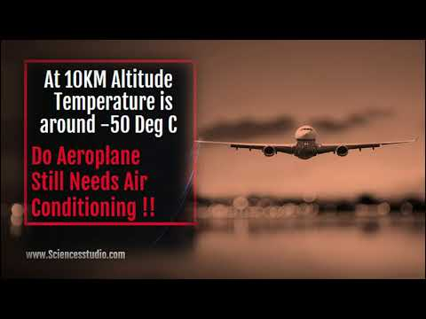 Do Aeroplane really needs air conditioning at an altitude of 10 KM ??