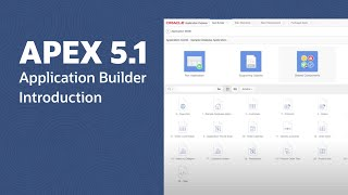 APEX 5.1 Application Builder Introduction