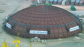 Explosión en una central nuclear de Flamanville en el norte de Francia
