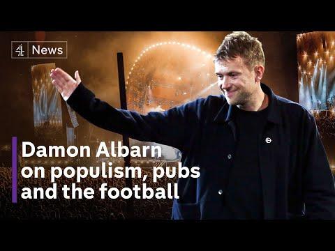 Damon Albarn: Blur frontman says the government lacks 'empathy' for arts