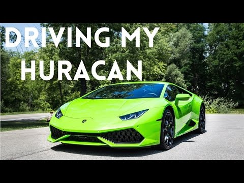driving my new lamborghini huracan for the first time youtube. Black Bedroom Furniture Sets. Home Design Ideas