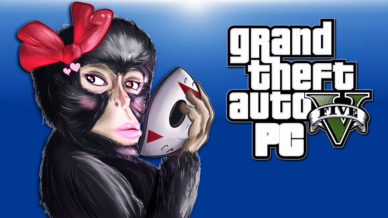 Gta 5 Pc Funny Moments Animal Skins Monkey Stripper Chicken