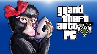 GTA 5 PC Funny Moments - Animal Skins!, Monkey Stripper, Chicken Crossing!