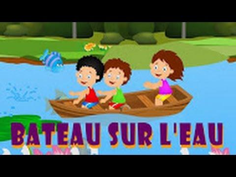 Bateau sur l'eau + 22 minutes de comptines et chansons pour les enfants