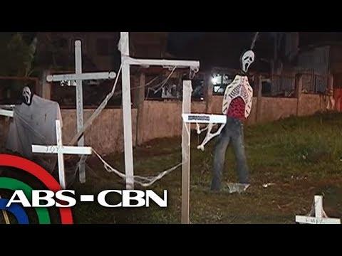 Bandila: Mga kontrabida sa 'Ang Probinsyano,' 'inilibing' sa Davao City