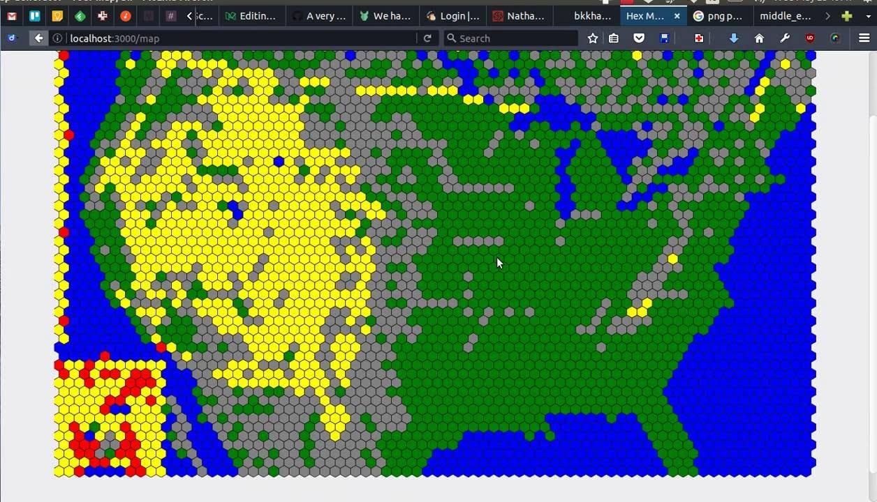 Png Image To Svg Hexagon Tile Map Demo Youtube