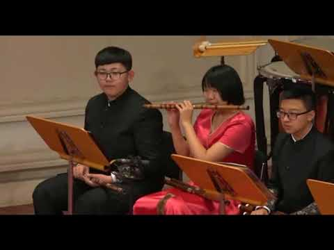 Tianjin music college traditional chinese music concert