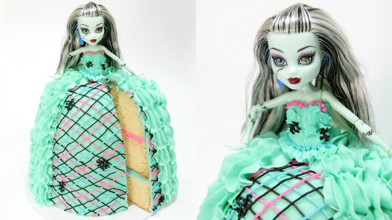 Frankie Stein Monster High Doll Cake Youtube