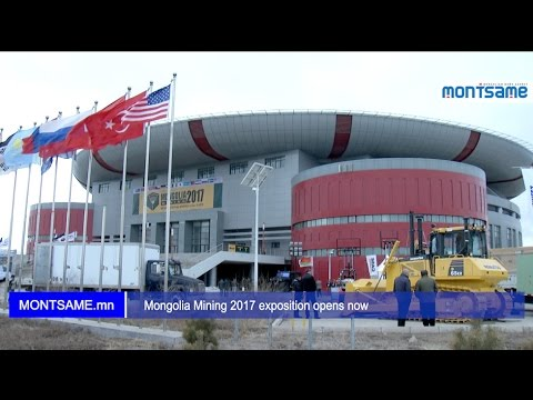 Mongolia Mining 2017 exposition opens now