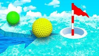 ПОПАЛСЯ В ЛЕДЯНУЮ ЛОВУШКУ! КРУТО ПРОШЛИ С ПЕРВОГО РАЗА САМУЮ ХИТРУЮ ЛУНКУ В ГОЛЬФ ИТ (Golf It)