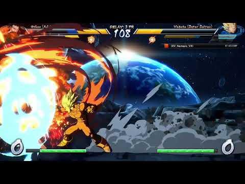 DBFZ: how to punish attack + vanish aggressive play