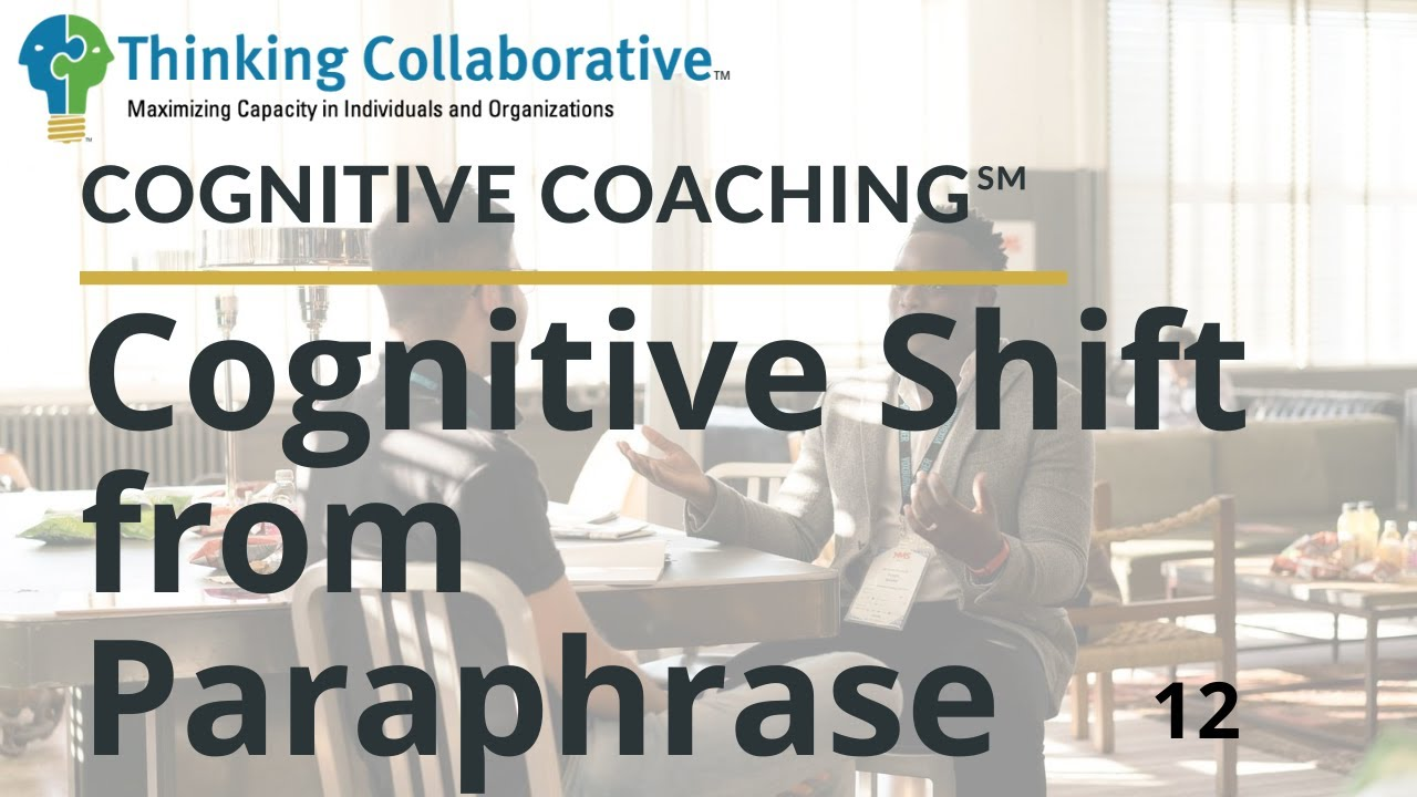 12 Cognitive Shift from Paraphrase