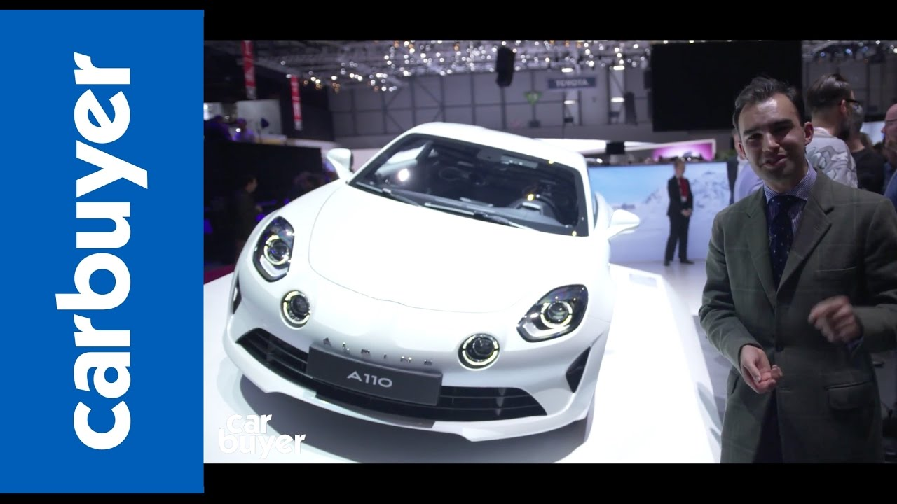 New Renault Alpine A110 sports car walkaround –Geneva Motor Show 2017 - Dauer: 60 Sekunden