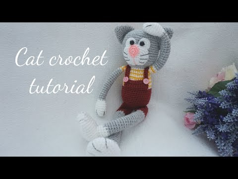 CAT CROCHET TUTORIAL