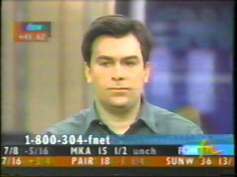 It's Only Money, CNNfn, June 20th, 1997