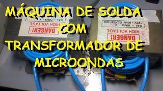 Repeat youtube video Máquina de solda com transformador de microondas 1/2