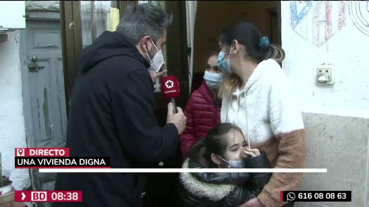 La mudanza de los vecinos de Peironcely10 en el programa Buenos días Madrid de TeleMadrid