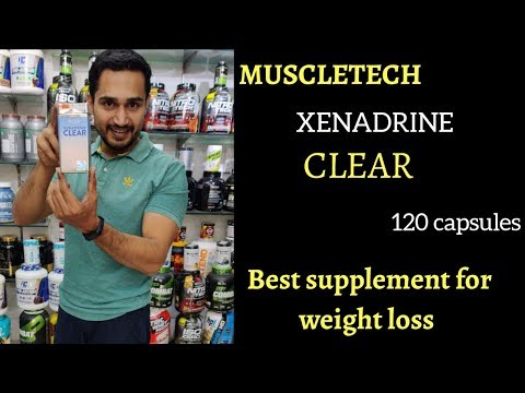 Muscletech Xenadrine clear review in hindi | best supplement for weight loss | Fat burner |