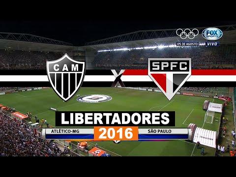 Jogo Completo - Atlético-MG 2 x 1 São Paulo - Copa Libertadores 2016 - 18/05/2016 - Futebol HD