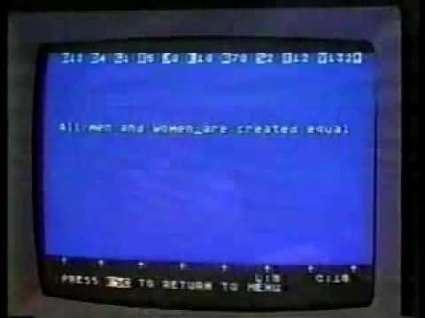 Publicité Atari 800XL - Alan Alda commercial