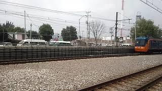 FM-95A FM.53/FM.54 tren de 9 carros en las inmediaciones de la estación Santa Marta Línea A