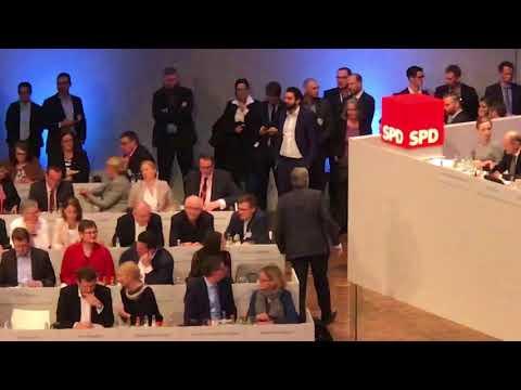 SPD-Sonderparteitag 2018 in Bonn
