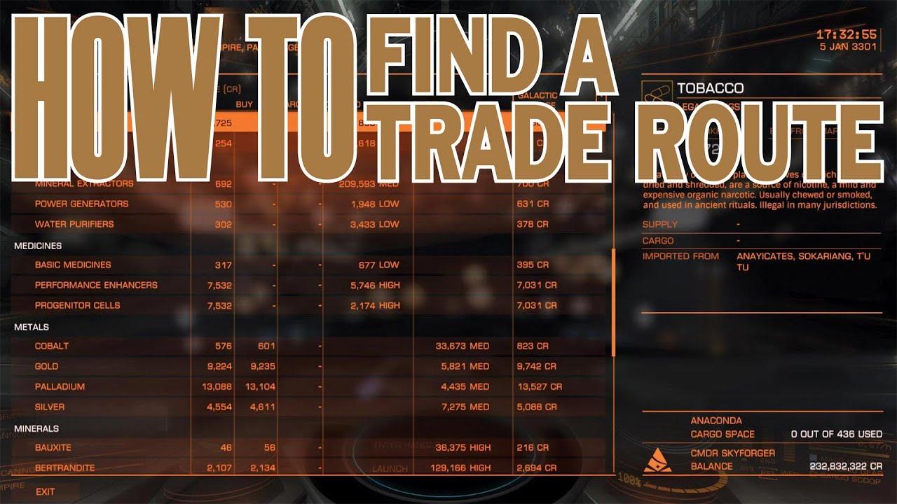 Good trading system elite dangerous