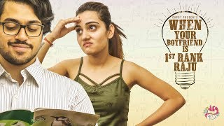 WHEN YOUR BOYFRIEND IS A TOPPER (First Rank Raju) (with English Subtitles) | Hey Pilla | CAPDT