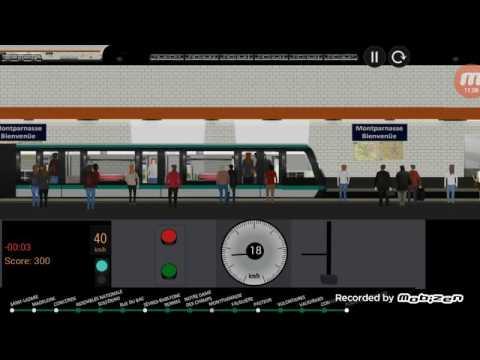 ADAM MARS Plays Paris Metro Simulator Pt3!