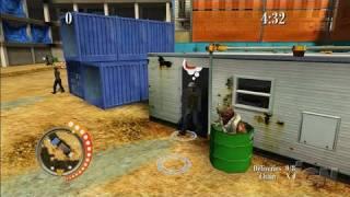 Sneak King Xbox 360 Gameplay - Construction Yard