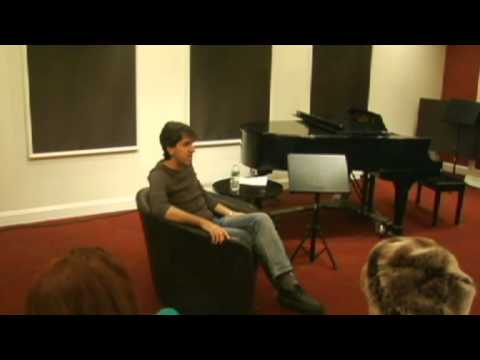A Songwriting Master Class with Jason Robert Brown