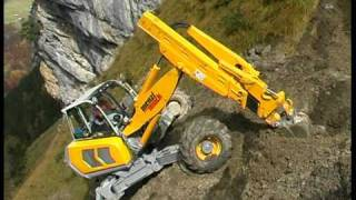 Menzi Muck A91 im Steilhang - on steep slope