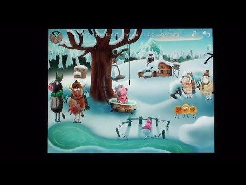 Little Fox Music Box -- Kids songs -- Sing along видео