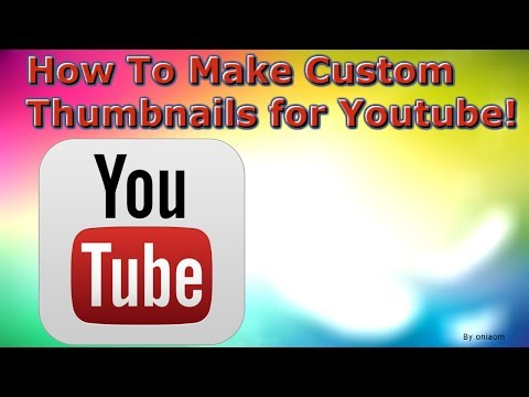 How To Make Your Own YouTube Thumbnail! - [Without Downloading Anything ... ]