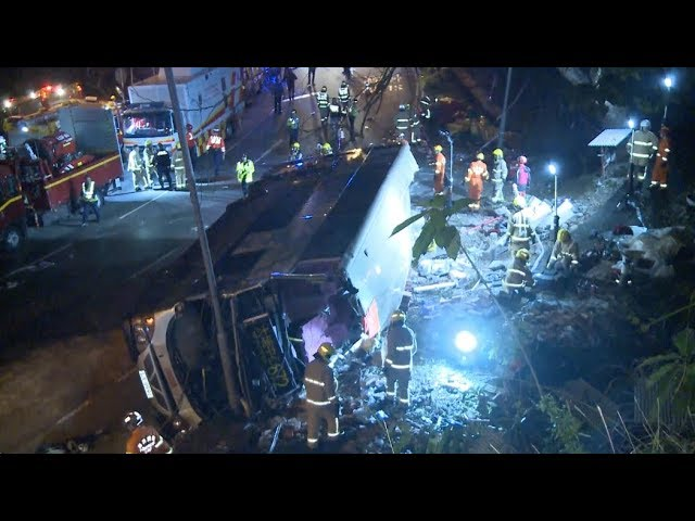 11 Remain In Critical Condition One Day After Deadly Hk Bus Crash