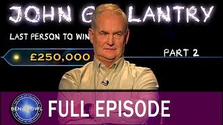 Who Wants to be a Millionaire John Gallantry Final Part 26th M…