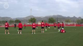 Entreno del Real Mallorca 3/02/17
