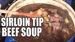 Sirloin Tip Beef Soup recipe