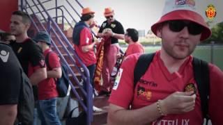 Una afición de primera acompañó al Real Mallorca a Valladolid